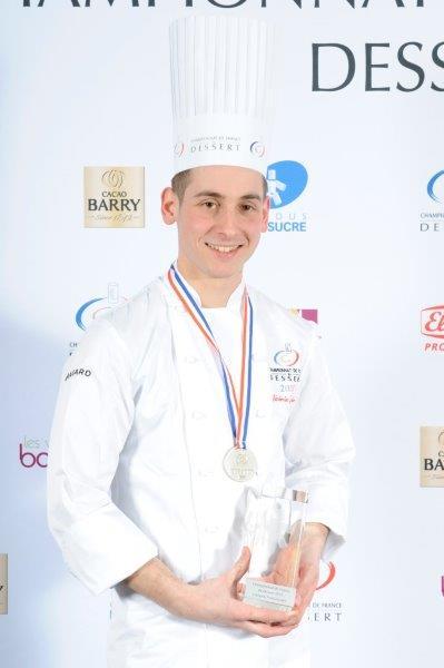 Jérémie Gressier Vice Champion de France du Dessert 2015