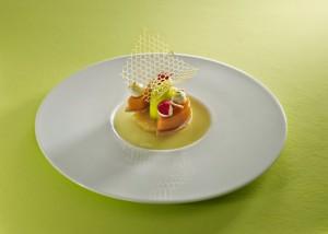 Ananas de Une Heure, Sauge et Yuzu par Jérémie Gressier