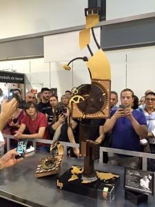 Pièce en chocolat de Yoann Laval